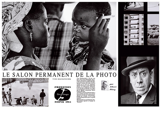 Point de vue - Images du monde, «Le Salon Permanent de la Photo, Yves Machatschek», 1964.